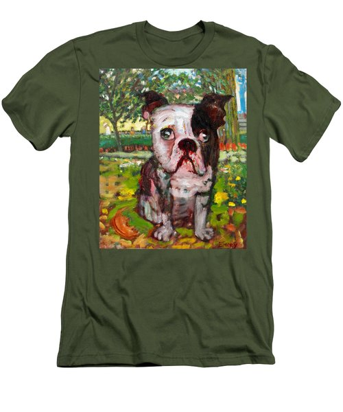Bulldog Men's T-Shirt (Athletic Fit)