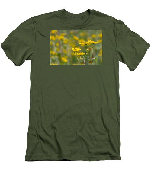 Men's T-Shirt (Slim Fit) featuring the photograph Burrmarigold by Paul Rebmann