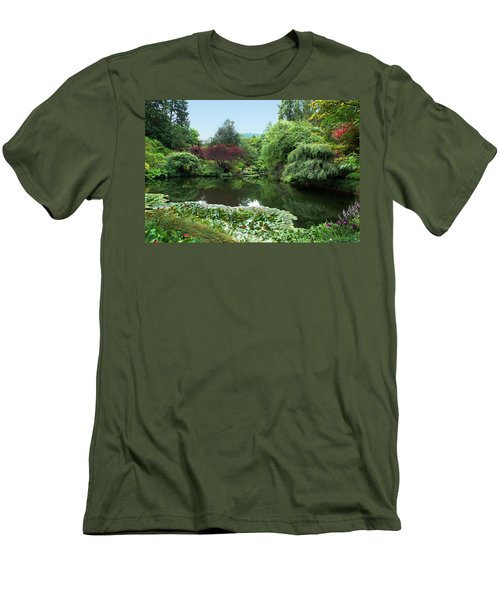Butchart Gardens Men's T-Shirt (Athletic Fit)