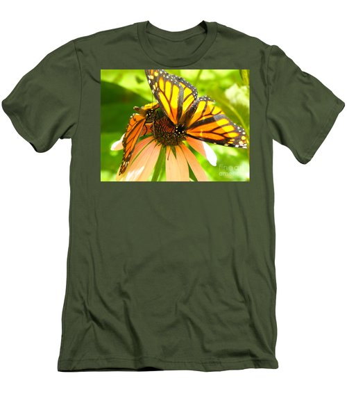 Butterfly And Friend Men's T-Shirt (Athletic Fit)