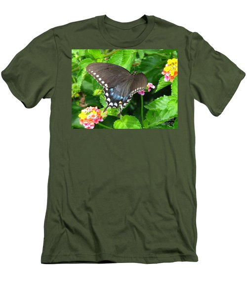 Butterfly Ballot Men's T-Shirt (Athletic Fit)