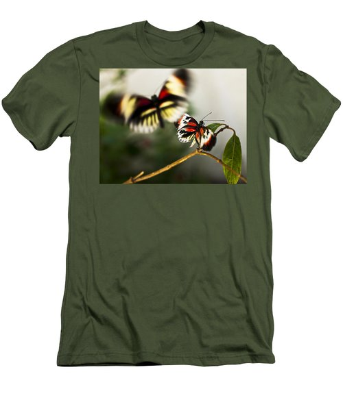 Butterfly In Flight Men's T-Shirt (Athletic Fit)