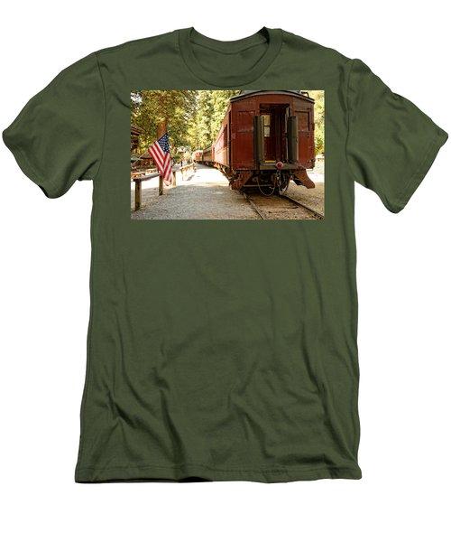 California Western Railroad Men's T-Shirt (Athletic Fit)