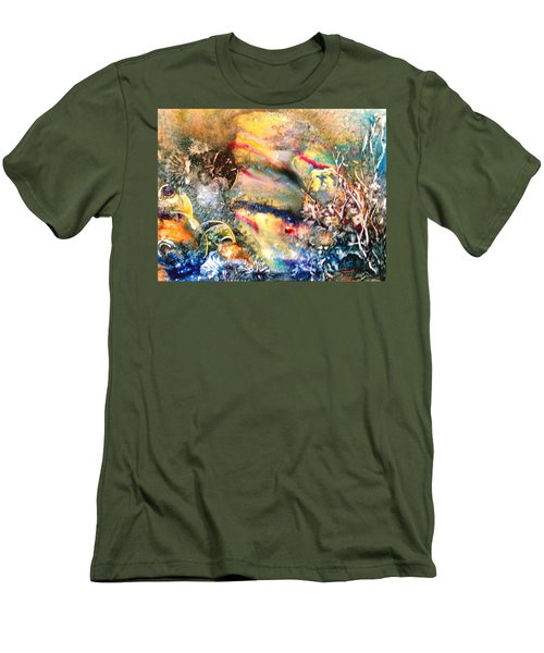 Calm Before The Storm Men's T-Shirt (Athletic Fit)