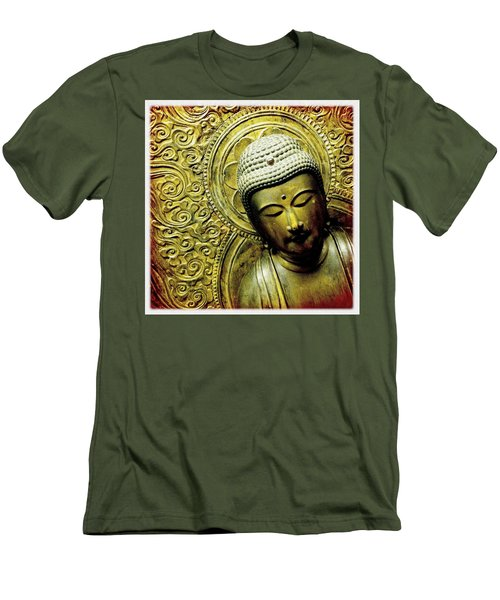 Calm Men's T-Shirt (Slim Fit) by Bradley R Youngberg