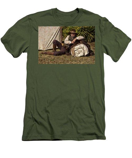 Camp Men's T-Shirt (Athletic Fit)