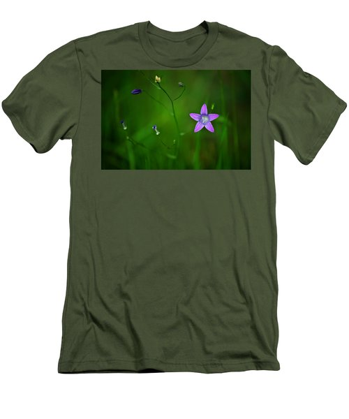 Campanula Patula Men's T-Shirt (Athletic Fit)