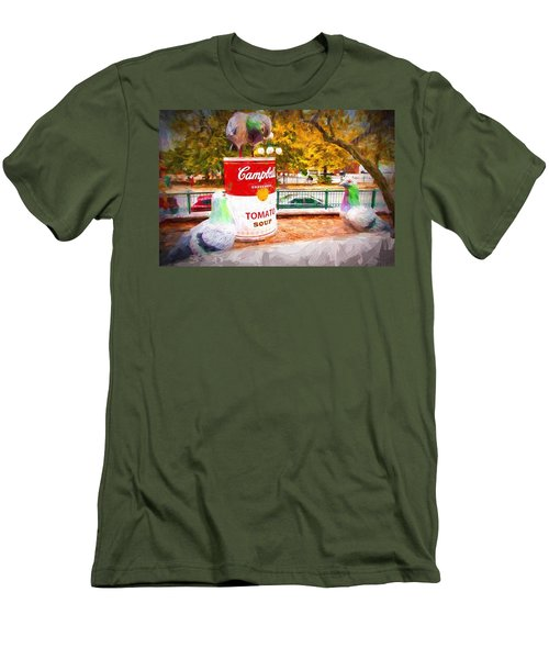 Campbell's Soup Men's T-Shirt (Slim Fit) by Bill Howard