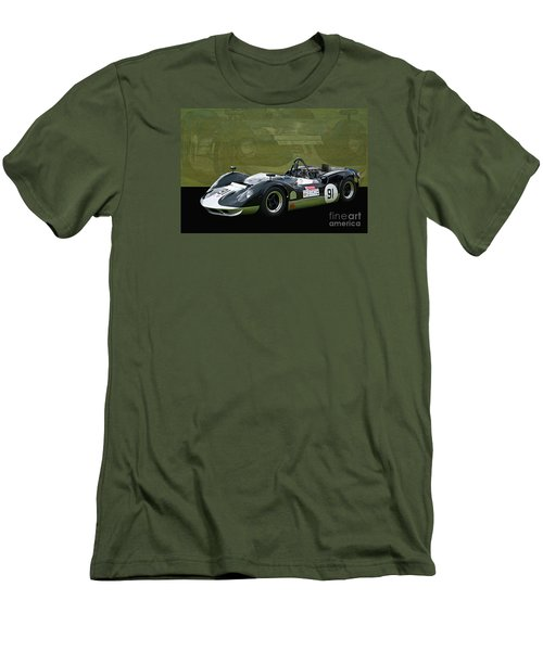 Can-am Mclaren M1b Men's T-Shirt (Athletic Fit)