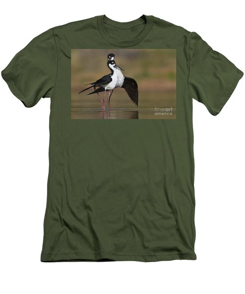 Men's T-Shirt (Slim Fit) featuring the photograph Can I Have This Dance by Bryan Keil