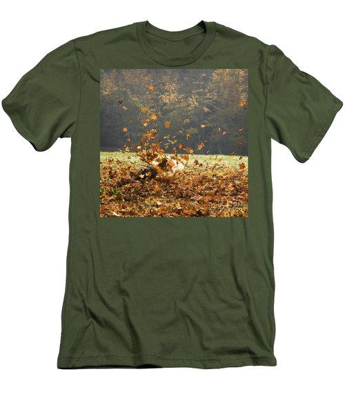 Can You See Me? Men's T-Shirt (Slim Fit) by Carol Lynn Coronios