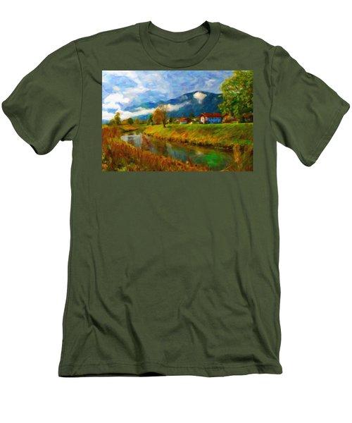Canal 1 Men's T-Shirt (Athletic Fit)