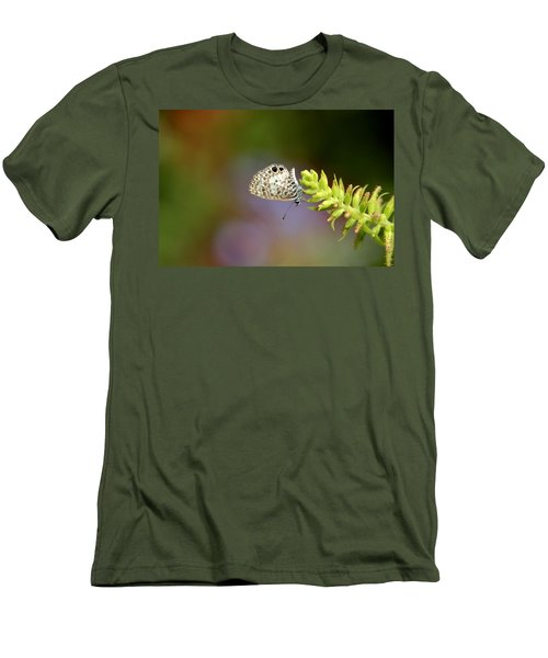 Men's T-Shirt (Slim Fit) featuring the photograph Cassius Blue by Greg Allore
