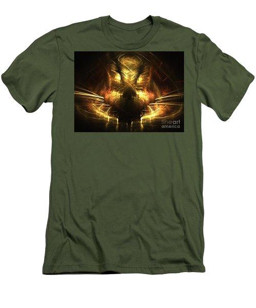 Cat Men's T-Shirt (Athletic Fit)