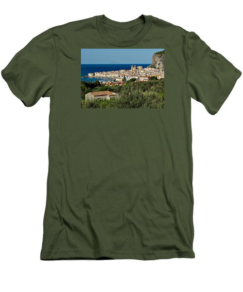 Cefalu Sicily Men's T-Shirt (Athletic Fit)