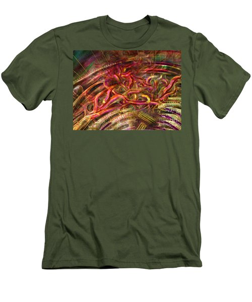 Men's T-Shirt (Athletic Fit) featuring the digital art Cell Dreaming 9 by Russell Kightley