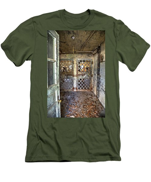 Chain Gang-3 Men's T-Shirt (Slim Fit) by Charles Hite