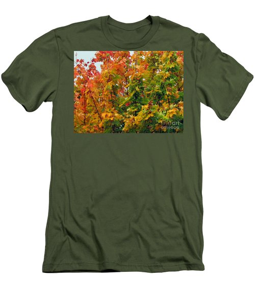 Men's T-Shirt (Athletic Fit) featuring the photograph Changing Times by Tikvah's Hope