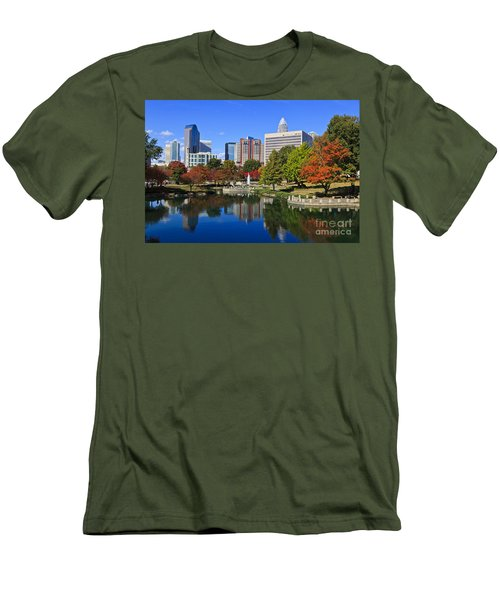 Charlotte North Carolina Marshall Park Men's T-Shirt (Athletic Fit)