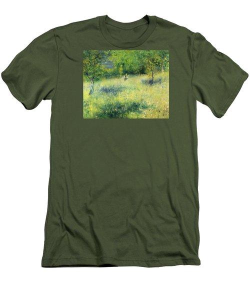Chatou After Renoir Men's T-Shirt (Athletic Fit)
