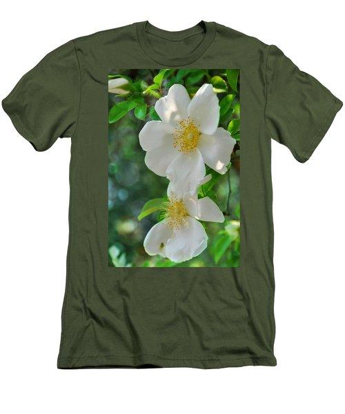 Cherokee Roses Men's T-Shirt (Athletic Fit)
