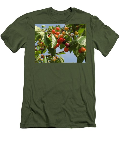 Men's T-Shirt (Slim Fit) featuring the photograph There's Always 'that One' by Natalie Ortiz
