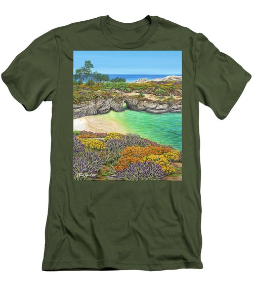 China Cove Paradise Men's T-Shirt (Athletic Fit)