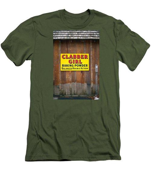 Clabber Girl Men's T-Shirt (Athletic Fit)