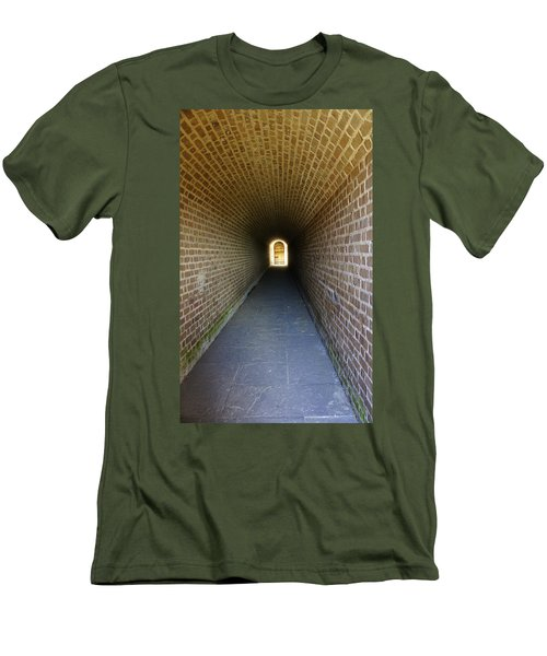 Clinch Hall Men's T-Shirt (Slim Fit) by Laurie Perry