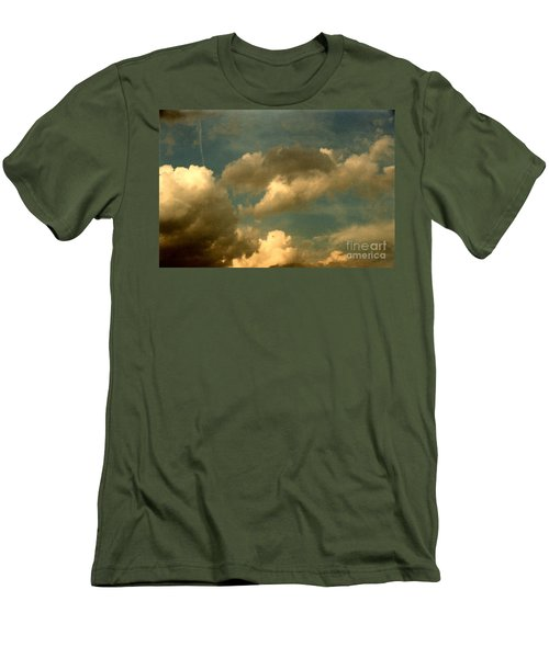 Clouds Of Yesterday Men's T-Shirt (Slim Fit) by Anita Lewis