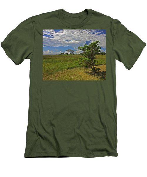 Clouds Over Hatteras Men's T-Shirt (Athletic Fit)