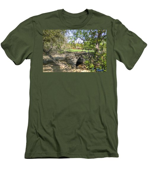 Clover Valley Park Bridge Men's T-Shirt (Athletic Fit)