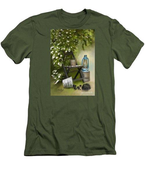 Coal Men's T-Shirt (Slim Fit) by Lena Auxier