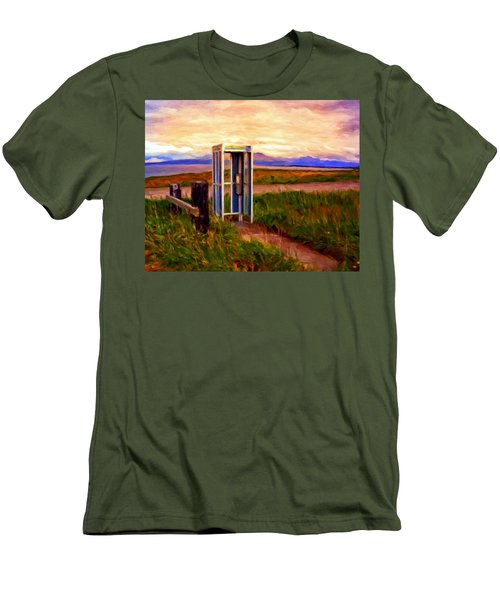 Cold Bay Ferry Service Men's T-Shirt (Athletic Fit)
