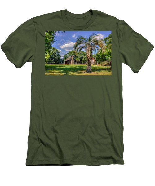 Colonial Paradise Men's T-Shirt (Athletic Fit)
