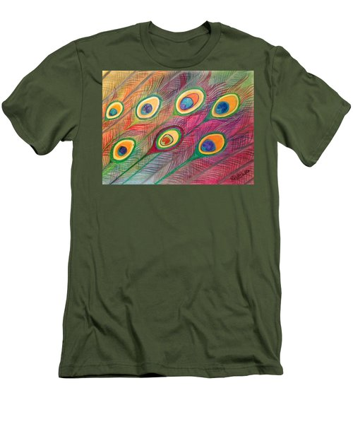 Colorful Delusions Men's T-Shirt (Athletic Fit)