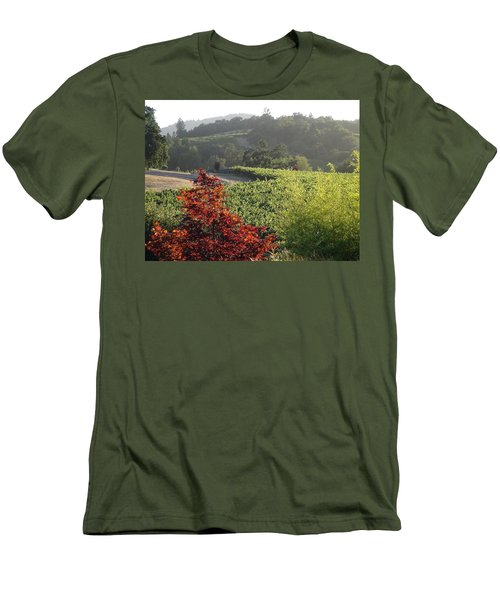 Colors Of Cali Men's T-Shirt (Athletic Fit)
