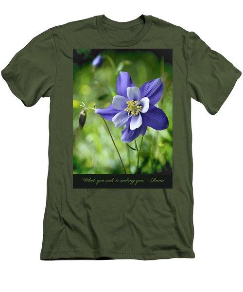 Columbine Card  Men's T-Shirt (Slim Fit)