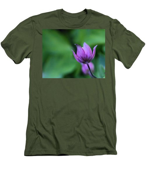 Columbine Flower Bud Men's T-Shirt (Athletic Fit)
