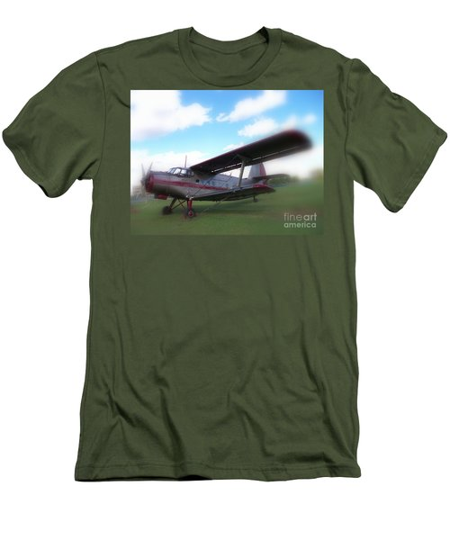 Come Fly With Me Men's T-Shirt (Slim Fit) by Lingfai Leung