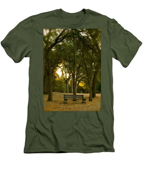 Come Sit Awhile Men's T-Shirt (Athletic Fit)