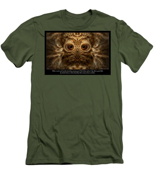Comes From Wisdom Men's T-Shirt (Athletic Fit)