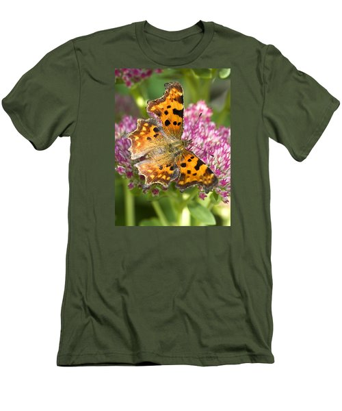 Comma Butterfly Men's T-Shirt (Athletic Fit)