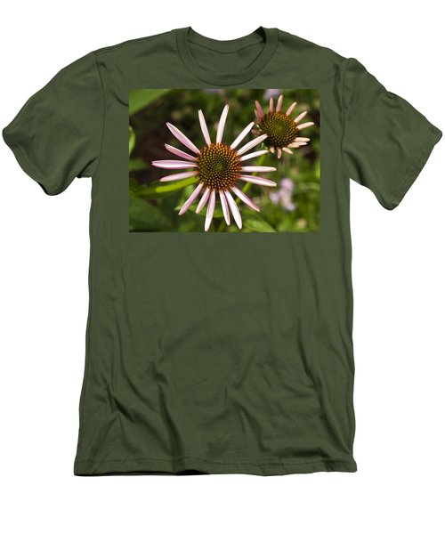 Cone Flower - 1 Men's T-Shirt (Slim Fit) by Charles Hite