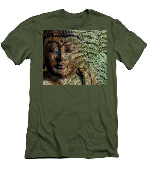 Convergence Of Thought Men's T-Shirt (Slim Fit) by Christopher Beikmann