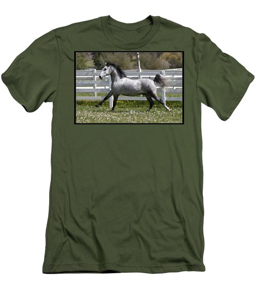Men's T-Shirt (Slim Fit) featuring the photograph Conversano Catalina IIi D4000 by Wes and Dotty Weber