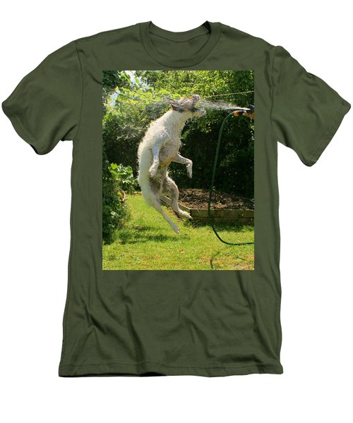 Cool Dog Men's T-Shirt (Athletic Fit)