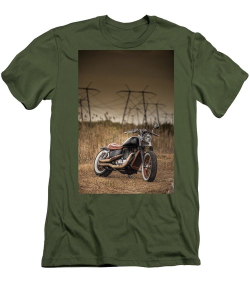 Copper Chopper Men's T-Shirt (Athletic Fit)