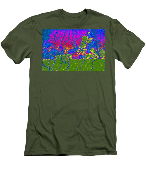 Cosmic Series 016 Men's T-Shirt (Athletic Fit)