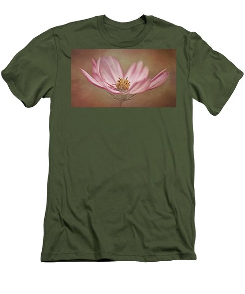 Men's T-Shirt (Slim Fit) featuring the photograph Cosmos by Ann Lauwers